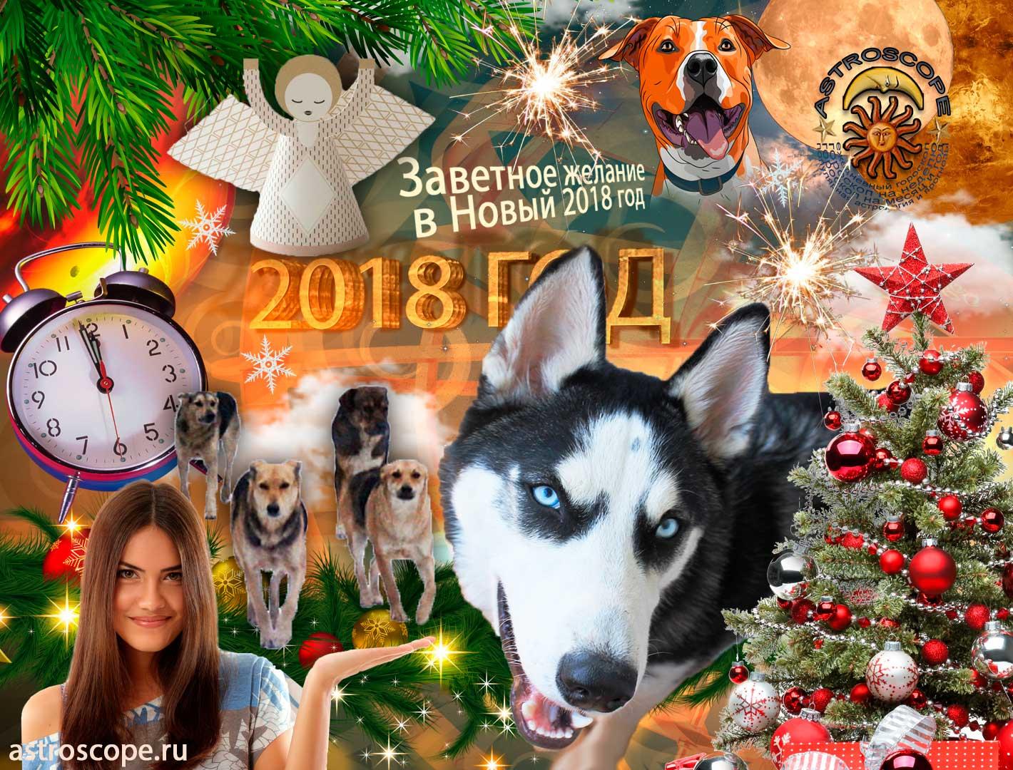Ритуалы на Новый 2018 год для исполнения желания