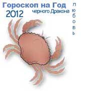 гороскоп любви на 2012 год для знака рак