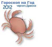 гороскопы на 2012 год черного Дракона для знака зодиака рак