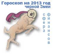 гороскоп финансов на 2013 год для знака овен