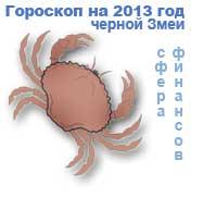 гороскоп финансов на 2013 год для знака рак