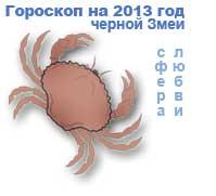 гороскоп любви на 2013 год для знака рак