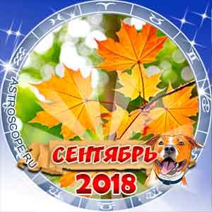 Гороскоп на сентябрь 2018 для всех знаков Зодиака