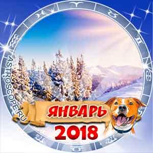 Гороскоп на январь 2018 для всех знаков Зодиака