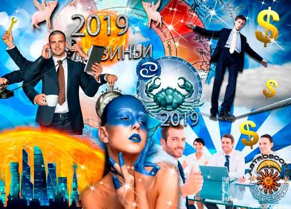 Аудио гороскоп на 2019 год для знака Зодиака Рак. 2 часть.