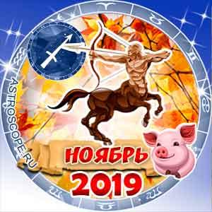 Гороскоп на ноябрь 2019 знака Зодиака Стрелец