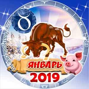 Гороскоп на январь 2019 знака Зодиака Телец