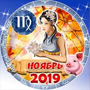 Гороскоп на ноябрь 2019 знака Зодиака Дева