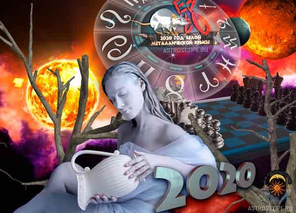 Аудио гороскоп на 2020 год для знака Зодиака Водолей. 4 часть.