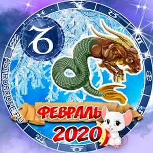 Гороскоп на февраль 2020 знака Зодиака Козерог