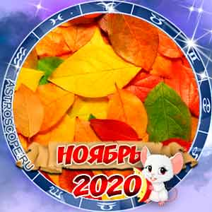 Гороскоп на ноябрь 2020 для всех знаков Зодиака