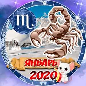 Гороскоп на январь 2020 знака Зодиака Скорпион