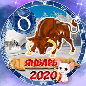 Гороскоп на январь 2020 знака Зодиака Телец