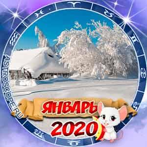 Гороскоп на январь 2020 для всех знаков Зодиака