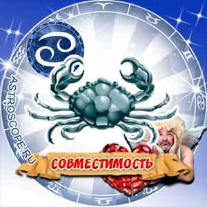 гороскоп совместимости Рак