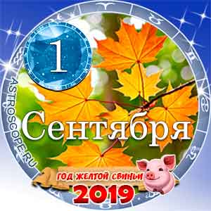 Гороскоп на 1 сентября 2019 года для всех и по знакам Зодиака
